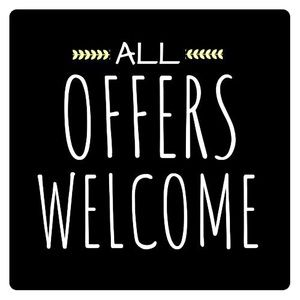Other - All offers welcome! Bundles all receive discounts!